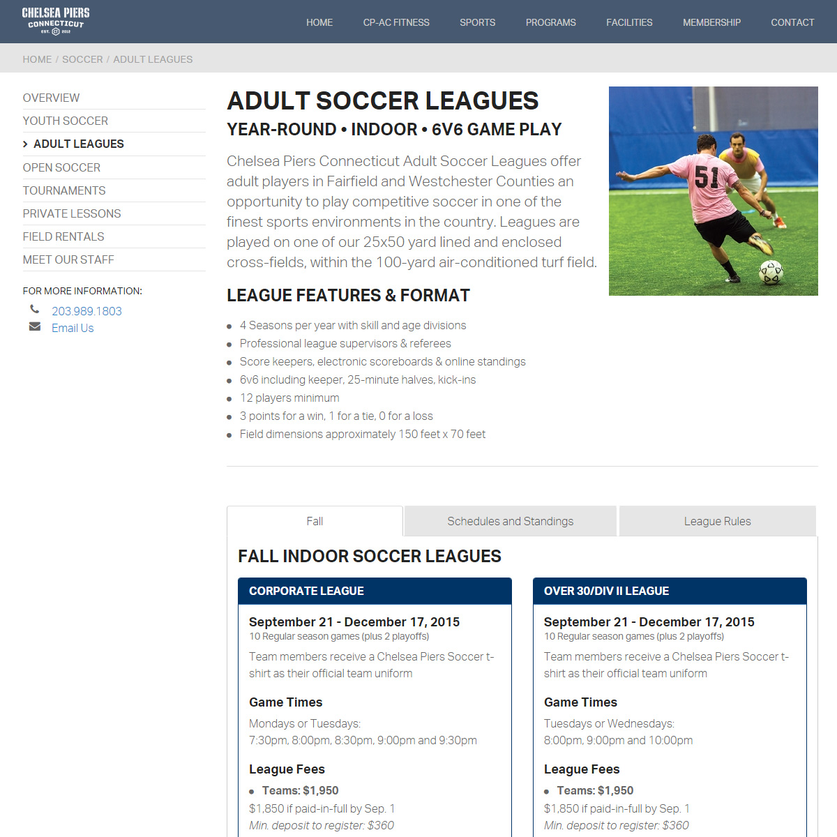 Massachusetts Adult Soccer - Official Site